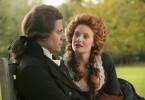 William Wilberforce (Ioan Gruffudd), der im britischen Unterhaus gegen die Sklaverei kämpft, mit seiner späteren Frau Barbara (Romola Garai).