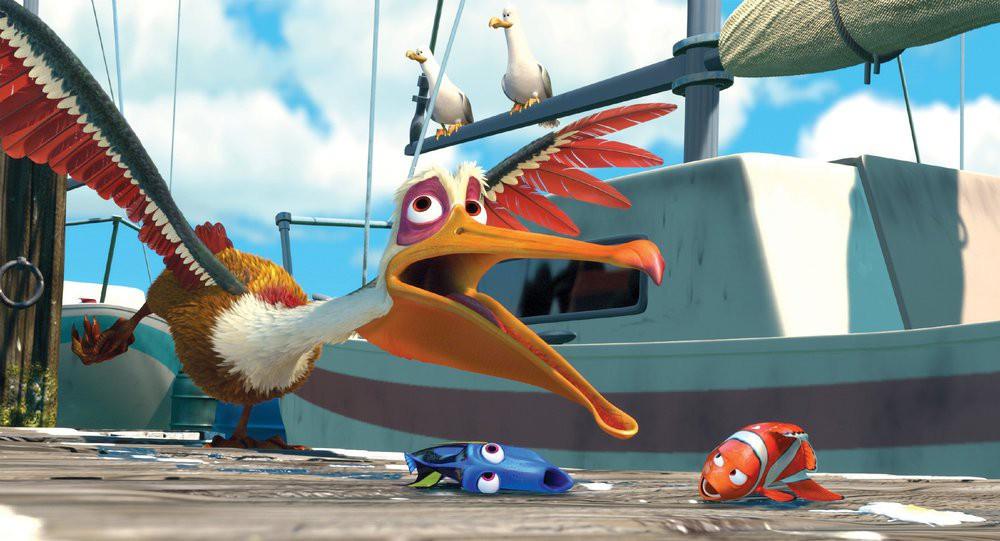 Pelikan Findet Nemo