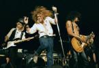 Die legendäre Rockband Guns N´ Roses auf der Bühne
