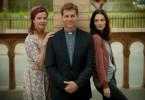 Pfarrer Benedikt (Thomas Heinze) hat eine sehr eigene Art, Trost zu spenden. Amelie (Margarita Broich, l.) lebt auf, Tochter Lou (Maria Ehrich, r.) findet es befremdlich.