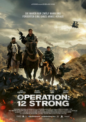 """Operation: 12 Strong"" ist ein patriotischer Kriegsfilm mit Chris Hemsworth in der Hauptrolle des Captain Mitch Nelson."