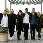 V.l.: Marian Gold, Rea Garvey, Judith Holofernes, Mark Forster, Johannes Strate, Mary Roos, Leslie Clio
