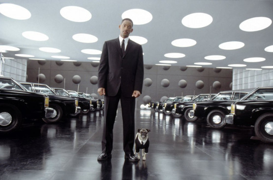 Agent Jay (Will Smith) und Mops 'Frank'