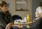 Pflegeheim Wollomoos Angehörige mit Bewohnerin