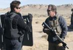 Die Agenten Matt (Josh Brolin, rechts) und Alejandro (Benicio del Toro) kehren an die mexikanische Grenze zurück.