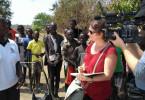 Die Region Adjumani im Norden Ugandas ist eine der wichtigsten Routen für Flüchtlinge, die vor Hunger und Krieg im Südsudan fliehen. Internationale Hilfsorganisationen betreiben hier Camps für über 100 000 Menschen. Doch es fehlt an Geld, sie zu versorgen.