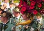 Die Blumenhörner sind der ganze Stolz des Jägerkorps.