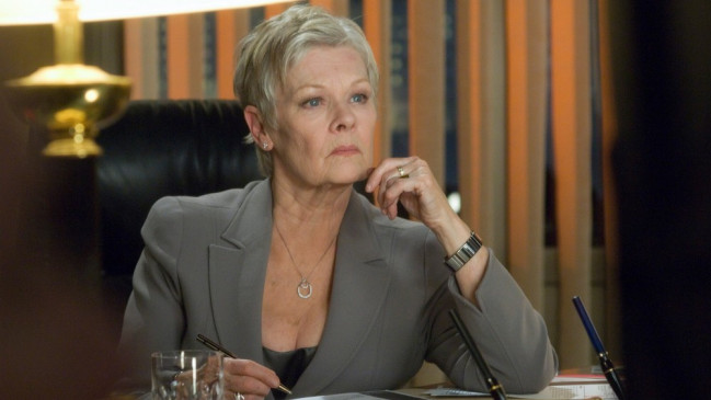 M (Judi Dench) Photo Credit: Jay Maidment