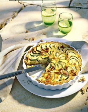 Rezept Fur Zucchini Walnuss Quiche