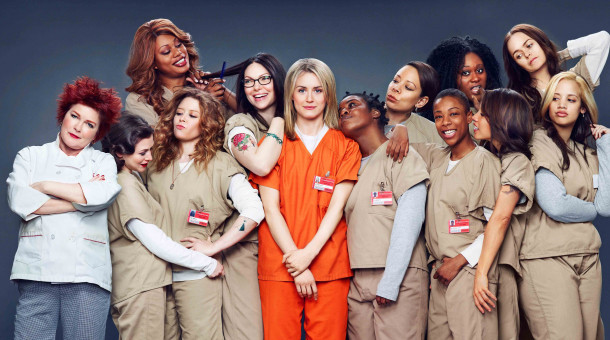 "Der  Cast  von ""Orange is the New Black""."