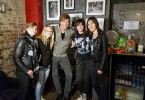 Campino trifft The Ramonas - eine Ramones-Coverband von vier Engländerinnen.