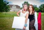 Die Schwestern Rosalie (Zoe Moore, r.) und Bianca (Jeanne Goursaud, l.) sind ein unschlagbares Team.