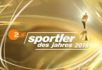 """Logo """"Sportler des Jahres 2018""""."""