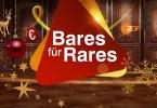 """Logo der Weihnachtsausgabe """"Bares für Rares - Deutschlands größte Trödel-Show""""."""