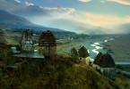 Die Totenstadt Dargaws gehört zu den geheimnisvollsten Orten des Kaukasus.