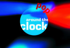 "Logo der 3sat-Sendung ""pop around the clock""."