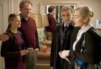 Penelope Longstreet (Jodie Foster, li.), Michael Longstreet (John C. Reilly), Nancy Cowan (Kate Winslet) und ihr Mann Alan (Christoph Waltz, 2. v .re.) haben etwas zu klären.
