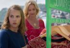 Beim Shoppen wird Emma (Annika Schrumpf, l.) von einer ihr unbekannte Frau (Franziska Schlattner, r.) angesprochen.
