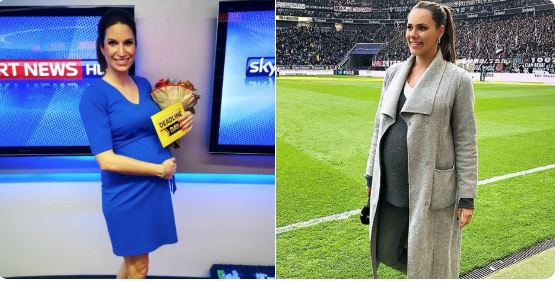 Esther Sedlaczek Sky Moderatorin In Der Babypause Wann
