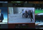 """Nahaufnahme eines Monitors in der Senderegie des """"heute journal"""" vom ZDF"""