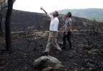 Jedes Jahr werden in Spanien mehrere Hektar Land Opfer der Flammen.