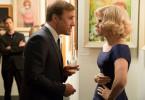 Walter Keane (Christoph Waltz, l.) ist genervt von den Vorwürfen seiner Frau Margaret (Amy Adams, r.).