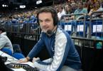 Markus Baur, Weltmeister-Kapitän von 2007, arbeitet für das ZDF als Co-Kommentator.