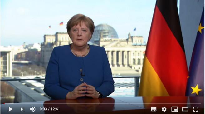 Coronavirus: Merkel will in Fernsehansprache über Maßnahmen informieren