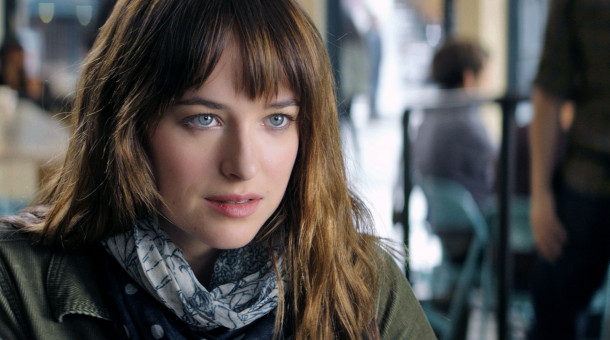 "Dakota Johnson als Anastasia Steele in ""Fifty Shades of Grey""."