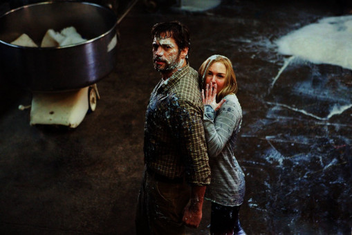 Harry Connick jr. (Ted Mitchell), Renée Zellweger (Lucy Hill).