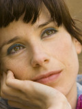 """Silberner Bär für Sally Hawkins als Poppy in """"Happy-Go-Lucky""""."""