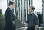Kann Max (James McAvoy) seinem Vorgesetzten Tom (David Morrissey, li.) trauen?