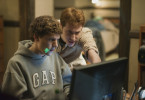 "Computerfreaks: Jesse Eisenberg (l.) und Joseph Mazzello in ""The Social Network""."