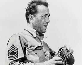 "Humphrey Bogart in ""Sahara"""