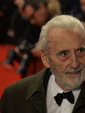 "Der ""Dracula"" vom Dienst: Horror-Mime Christopher Lee."