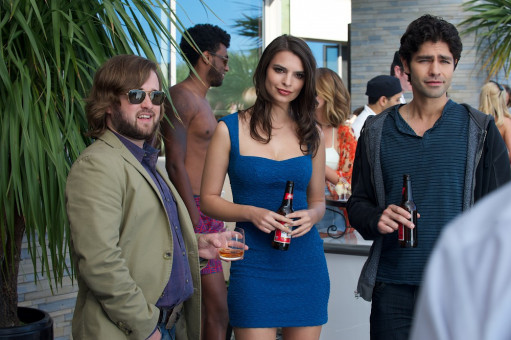 HALEY JOEL OSMENT as Travis McCredle, EMILY RATAJKOWSKI as herself and ADRIAN GRENIER as Vince
