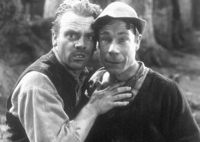 James Cagney und Joe E. Brown in der