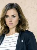 """Als Dresdner-""""Tatort""""-Kommissarin unterwegs: Karin Hanczewski in """"Auf einen Schlag""""."""