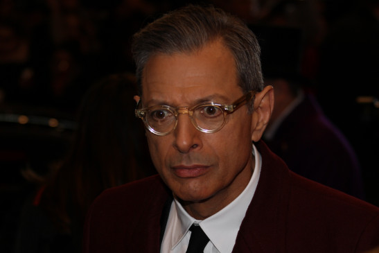 Ganz großer Hollywood-Star: Jeff Goldblum.