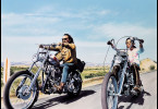 Born to be wild - Dennis Hopper (l.) und Peter Fonda