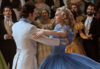 Prince Charming (Richard Madden), Cinderella (Lily James)