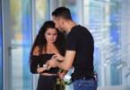"""Unvergesslich, wie Georgios """"Jorgo"""" Alatsas aus Ludwigshafen seiner Freundin Bana Hamawandi während des Castings von 'Deutschland sucht den Superstar' einen Heiratsantrag macht."""