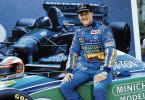 Rennfahrer Michael Schumacher im Jahr 1994.