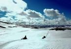 Unterwegs auf dem Hallingskarvet-Hochplateau in Norwegen