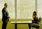 """And How Does That Make You Kill?"" -- When the daughter of Delko's therapist is murdered, Horatio (David Caruso, left) and the CSI team must find the killer before Delko's darkest secrets are exposed, on CSI: MIAMI, Monday, October 6th(10:00-11:00 PM, ET/PT). Pictured guest star Golden Brooks as Pam Dashell. Photo: Cliff Lipson/CBS. c2008 CBS Broadcasting Inc. All Rights Reserved."