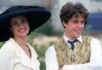 Carrie (Andie MacDowell), Charles (Hugh Grant)