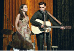 "Premiere: ""Walk the Line"". Im Bild: Reese Witherspoon (June Carter), Joaquin Phoenix (Johnny Cash)."