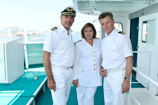 Sascha Hehn (Viktor Burger), Heide Keller (Beatrice), Nick Wilder (Dr. Sander).