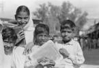 Schulkinder in Kabul, Afghanistan, in den 1950er Jahren