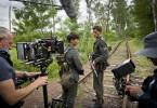 Making Of: Jannis Niewoehner und Sebastian Urzendowsky bei den Dreharbeiten. Weitere Fotos auf Anfrage.